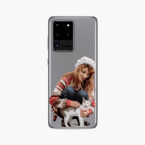 custom photo Clear Case for Samsung
