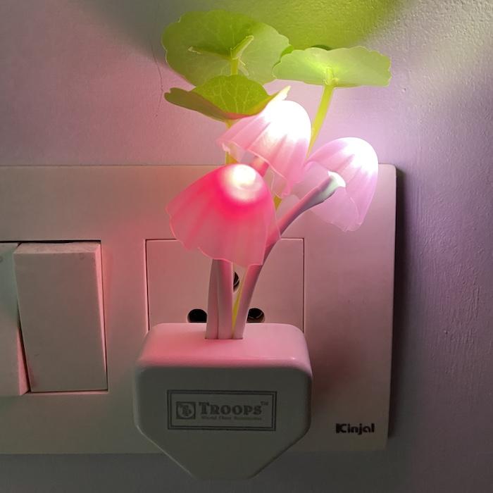 Mushroom Night Colorful LED Romantic Lamp