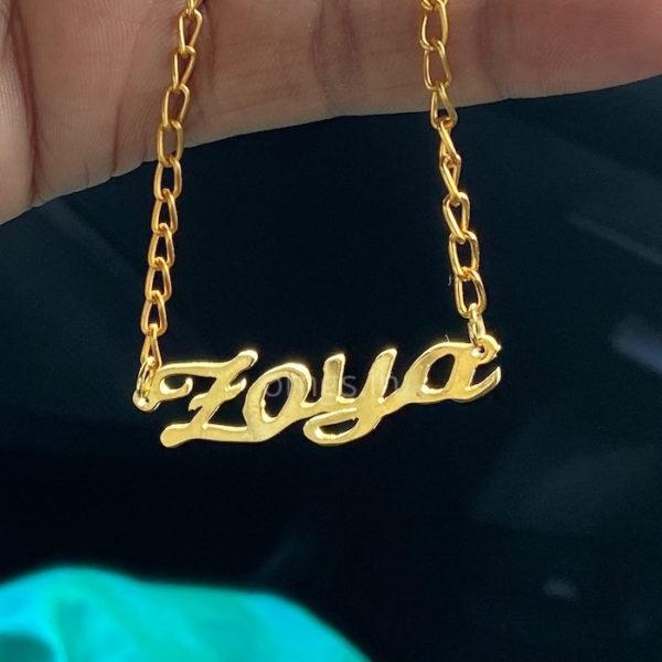 custom name jewellery gift
