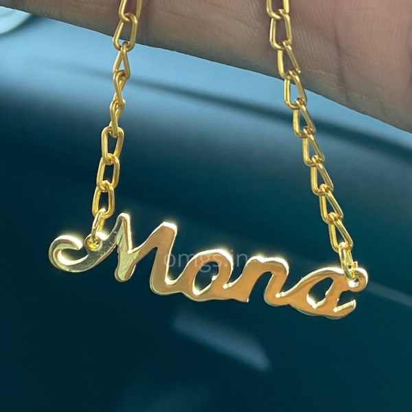your name gold jewellery