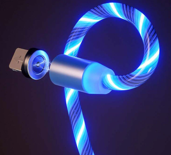 Flowing Light Magnetic Phone Charging Cable