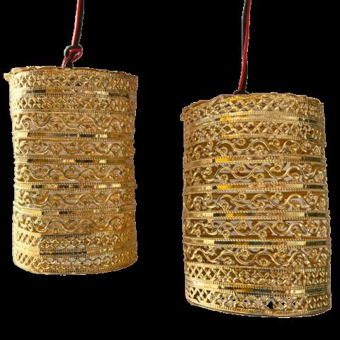 Romantic Balcony Lamp pair